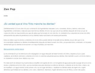 zenpop.org screenshot