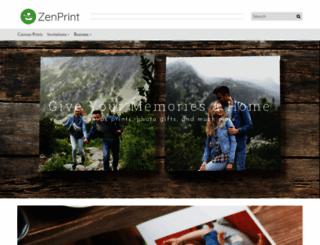 zenprint.com screenshot