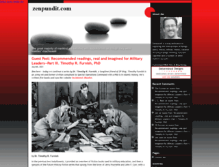 zenpundit.com screenshot