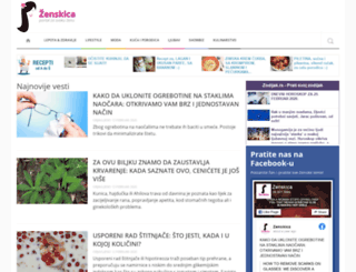 zenskica.com screenshot