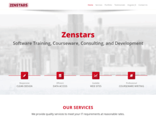 zenstars.com screenshot