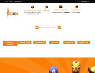 zentai-suit.com screenshot