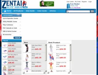 zentaisuitshop.com screenshot