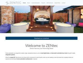 zentec.com.au screenshot
