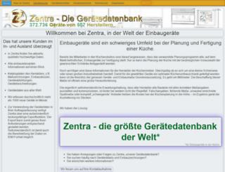 zentra.de screenshot