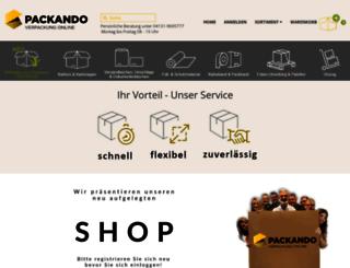 zentrada.fair-packung.de screenshot