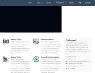 zentrasoft.com screenshot