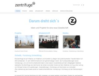 zentrifuge-nuernberg.de screenshot