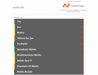 zentrix.info screenshot