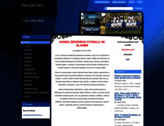 zeny-sk-slany.webnode.cz screenshot