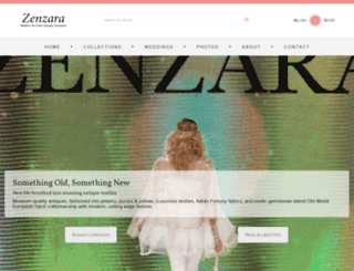 zenzara.net screenshot