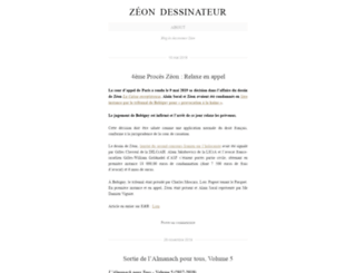 zeondessinateur.wordpress.com screenshot