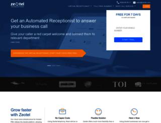 zeotel.com screenshot