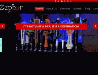 zephyrsportsbar.ae screenshot