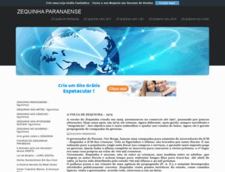 zequinhaparanaense.comunidades.net screenshot