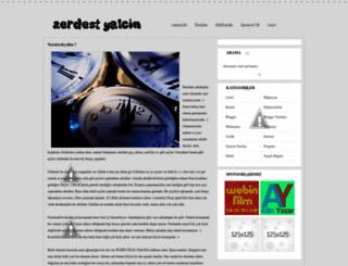 zerdestyalcin.blogspot.com screenshot