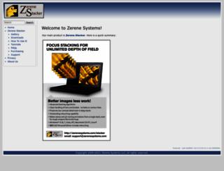 zerenesystems.com screenshot