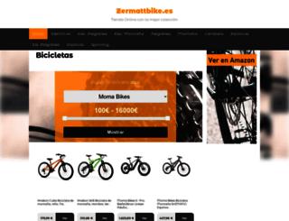 zermattbike.es screenshot