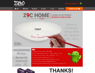 zero-devices.com screenshot