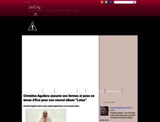 zero-kg.blogspot.fr screenshot