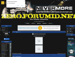 zero.forumid.net screenshot