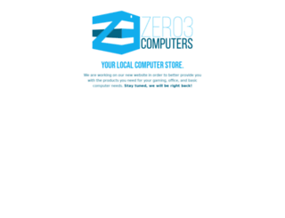 zero3computers.com screenshot