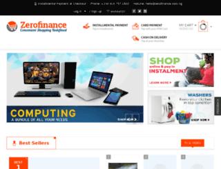 zerofinance.org.ng screenshot