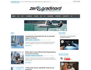 zerogradinord.net screenshot