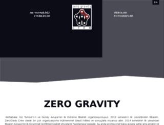 zerogravitycrew.com screenshot
