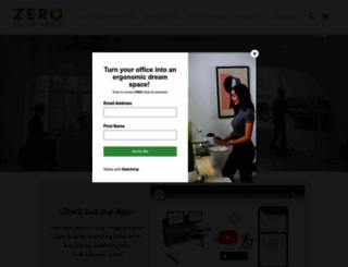 zerogravitytables.com screenshot