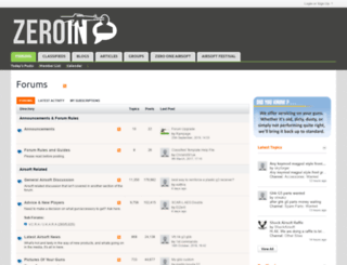 zeroin.co.uk screenshot