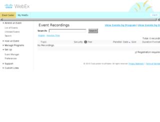 zerolagbiz.webex.com screenshot