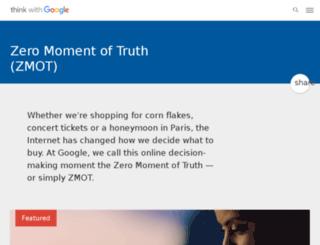 zeromomentoftruth.com screenshot