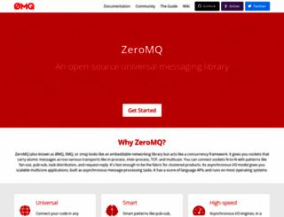 zeromq.org screenshot