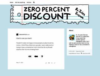 zeropercentdiscountcomic.tumblr.com screenshot