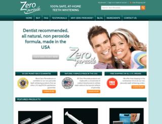 zeroperoxide.com screenshot