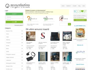 zerorelativo.it screenshot