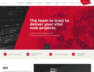zeroseven.com.au screenshot