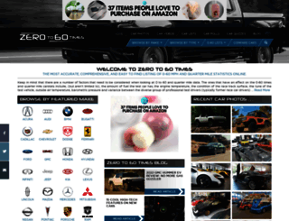 zeroto60times.com screenshot