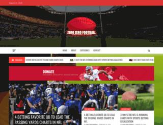 zerozerofootball.com screenshot