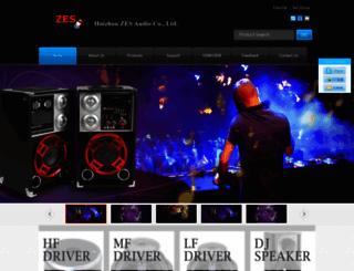zesaudio.com screenshot