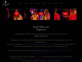 zespolmuzycznyinspiracja.pl screenshot