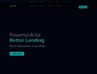 zestfinance.com screenshot