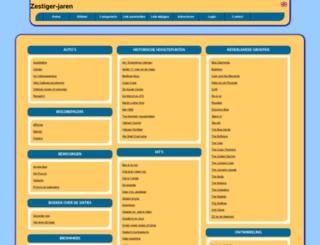 zestiger-jaren.allepaginas.nl screenshot