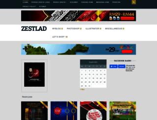 zestladesign.com screenshot