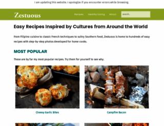 zestuous.com screenshot