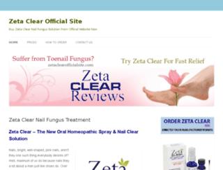 zetaclearofficialsite.com screenshot