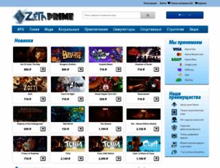 zetaprime.ru screenshot
