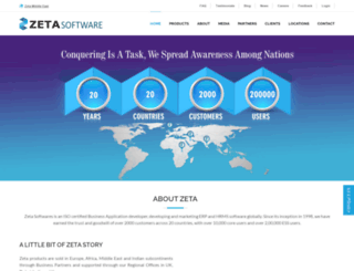 zetasoftwares.com screenshot