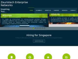 zeuristech.com screenshot